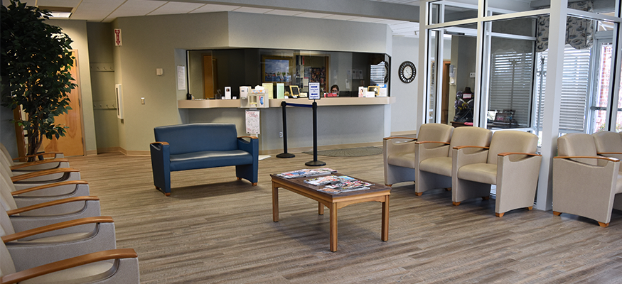 Carolina Surgical Care Waiting area