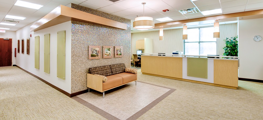 The Breast Center Waiting Room