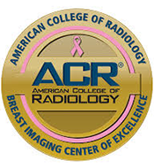 ACR Logo- American College of Radiology Breast Imaging Center of Excellence
