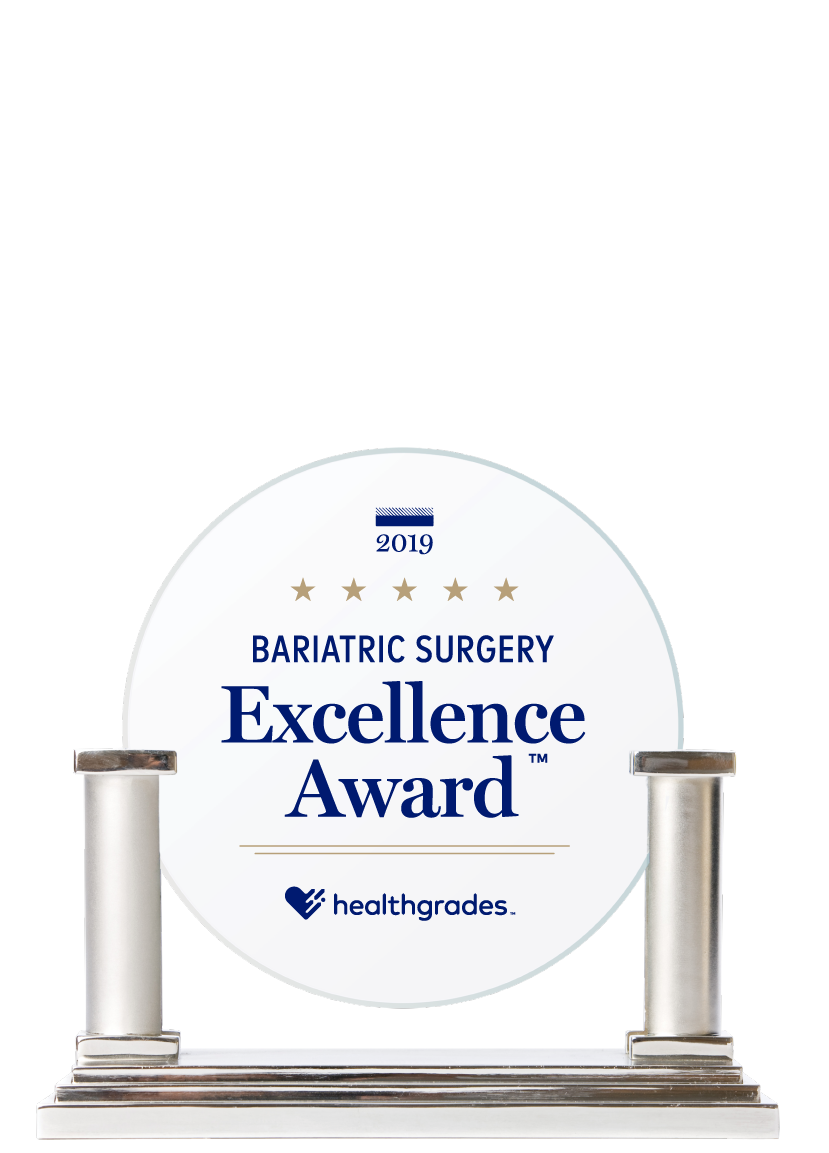 Healthgrades Overall Bariatric Surgery Excellence Award