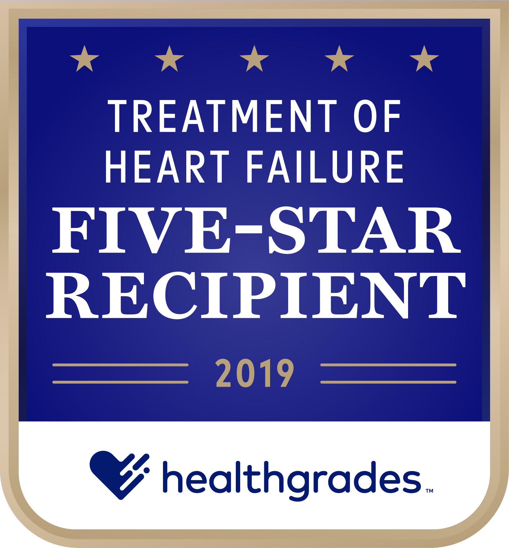 Healthgrades Five-Star Recipient for Treatment of Heart Failure