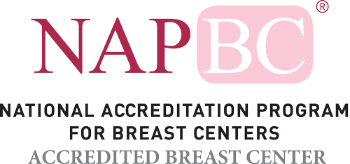 NAPBC logo - National Accreditation Program for Breast Centers/Accredited Breast Center