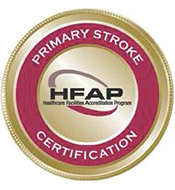 HFAP Primary Stroke Center Seal