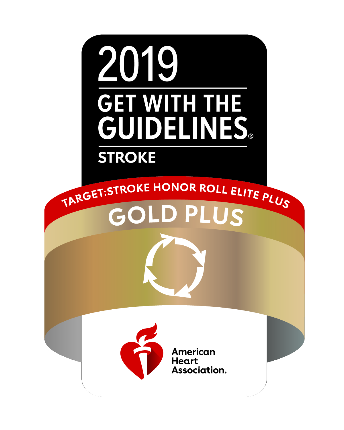 AHA 2019 Get with the guidelines seal