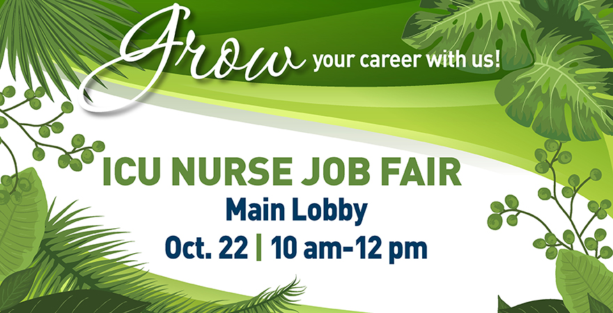 ICU Nurse Job Fair